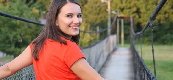 Zdjęcie na moście